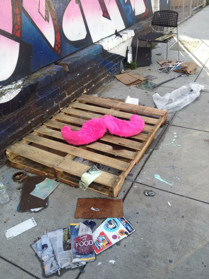 lyft-mustache-abandoned-trash-homeless