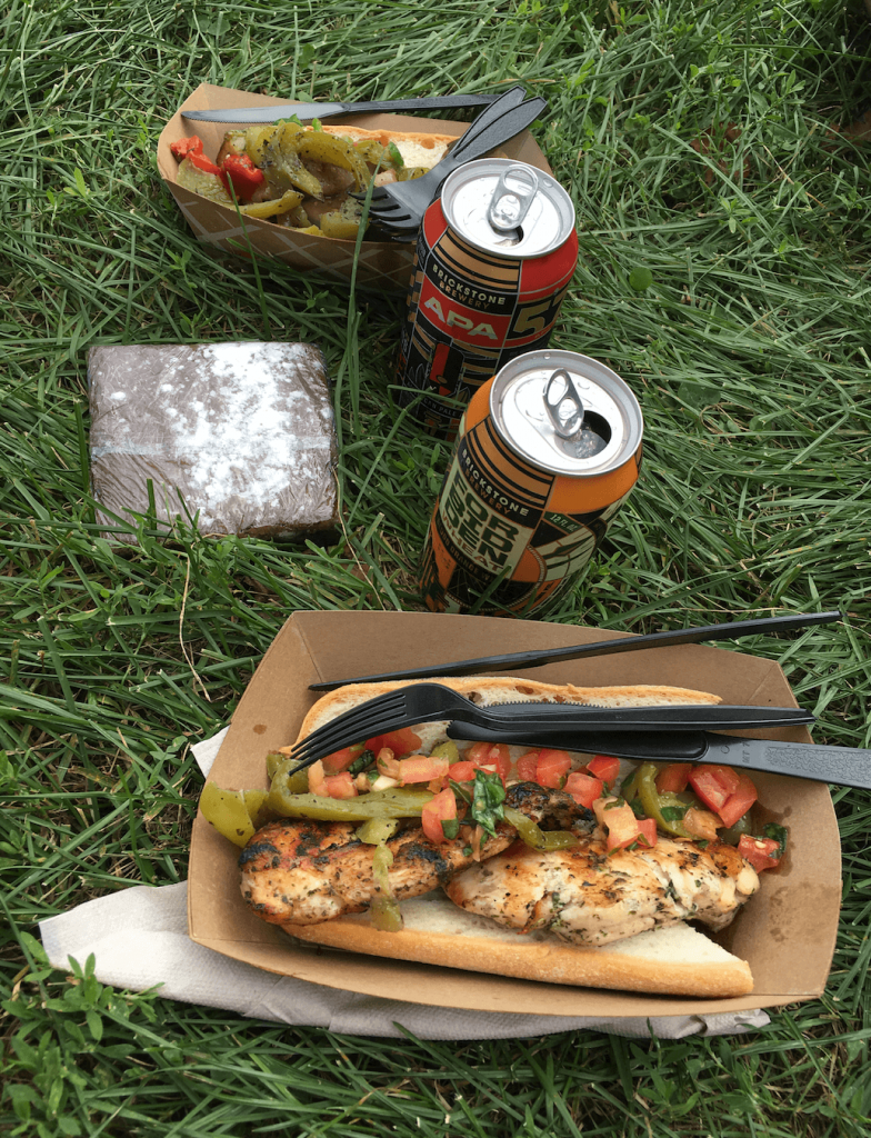 Riot Fest Food and Beer