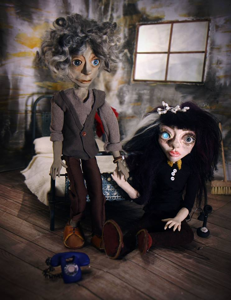 Puppets, design, art, and photography by Deanna Wardin.