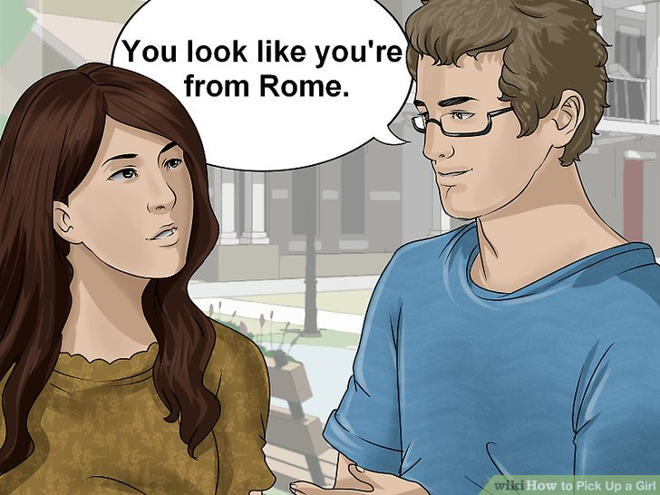 how to pick up women