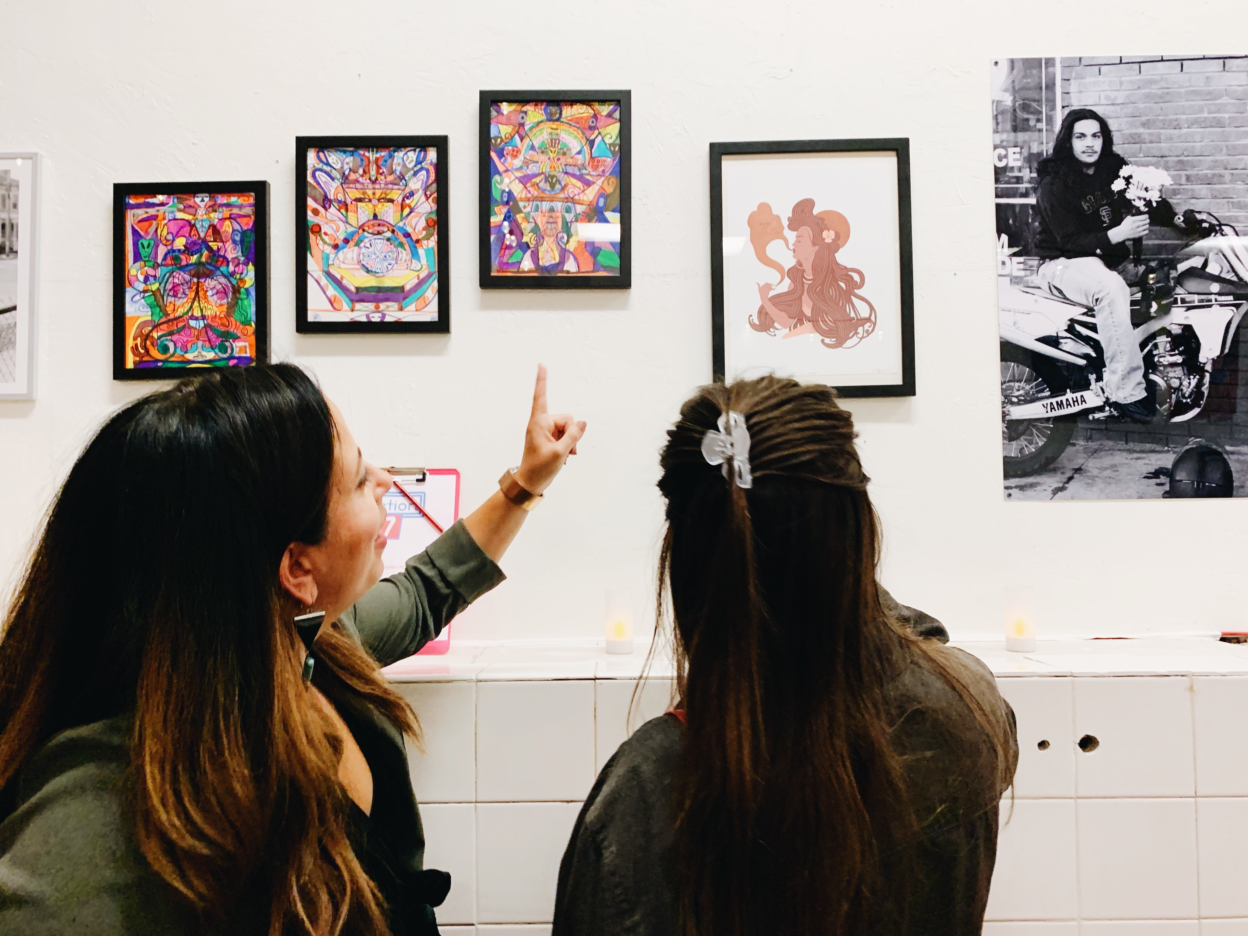 Your work on our walls', The Crowdsourced Art Show in SF